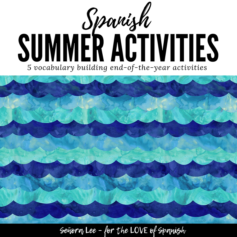 Spanish Summer Activities
