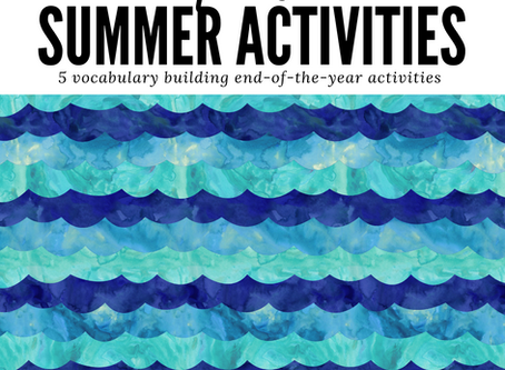 Spanish Summer Activities