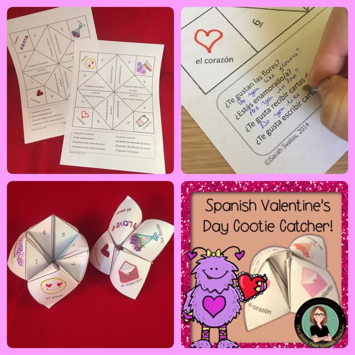 Spanish Cootie Catcher