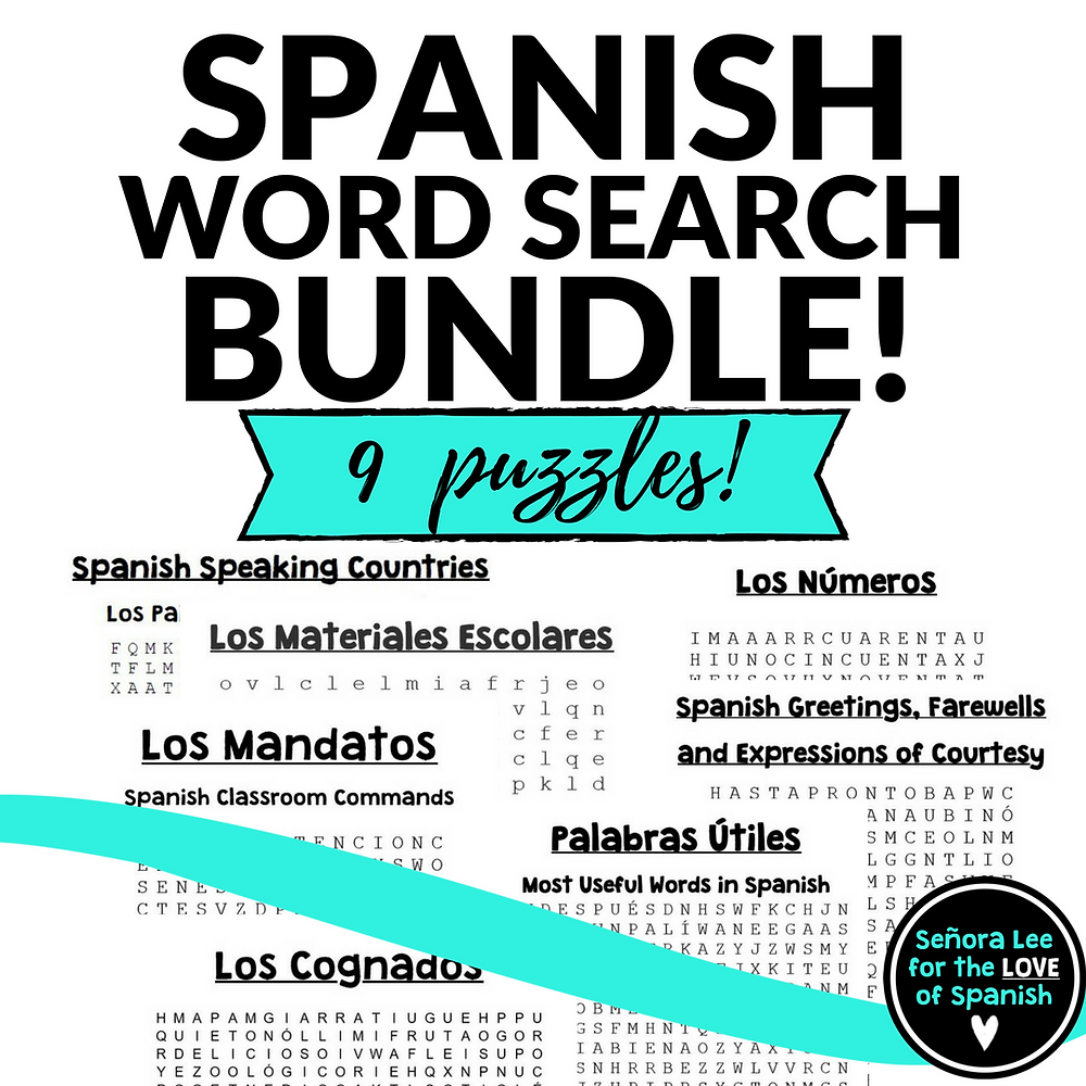 spanish word searches