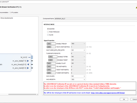 MicroZed Chronicles: AXI Stream Verification IP