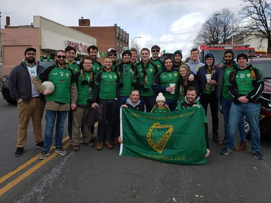 Rebels March in St. Patrick's Day Parade