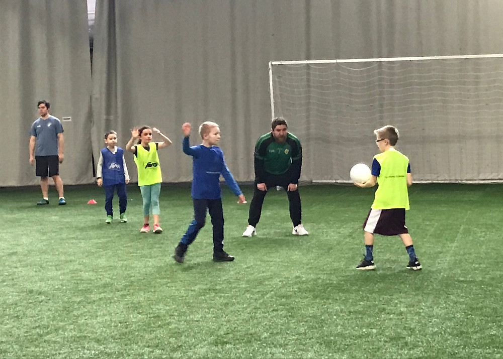 Youth clinic drill
