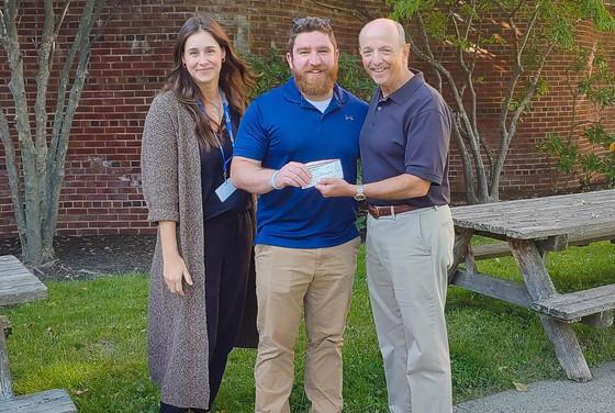 Rebels Cornhole Tournament Raises $2,000 for Catholic Charities