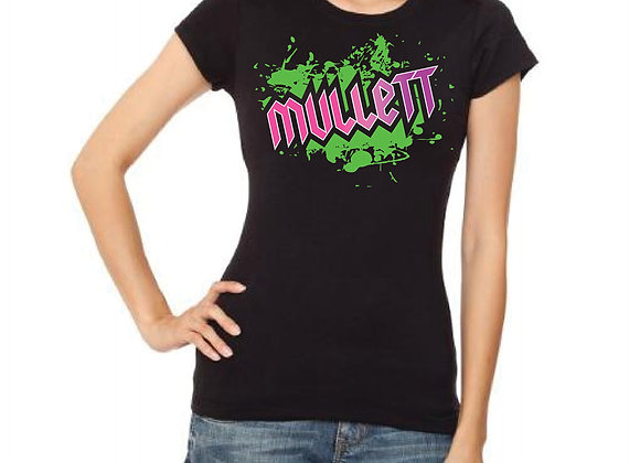 Women's Mullett T-shirt (Black)
