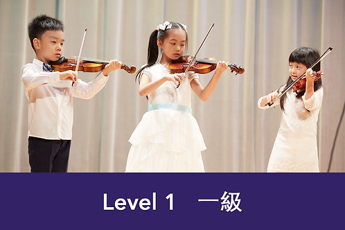 Violin Group Class Level 1 [FULL]