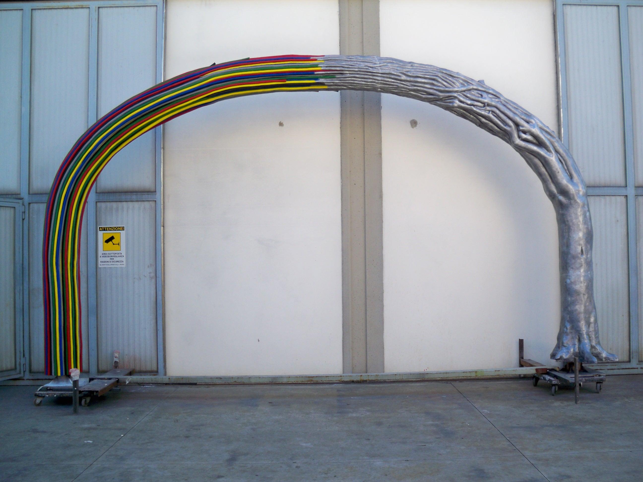Arco h. cm. 280 in alluminio