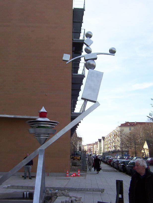 Ilya Kabakov - Shining Circus - Installazione a Monaco di Baviera (DE)