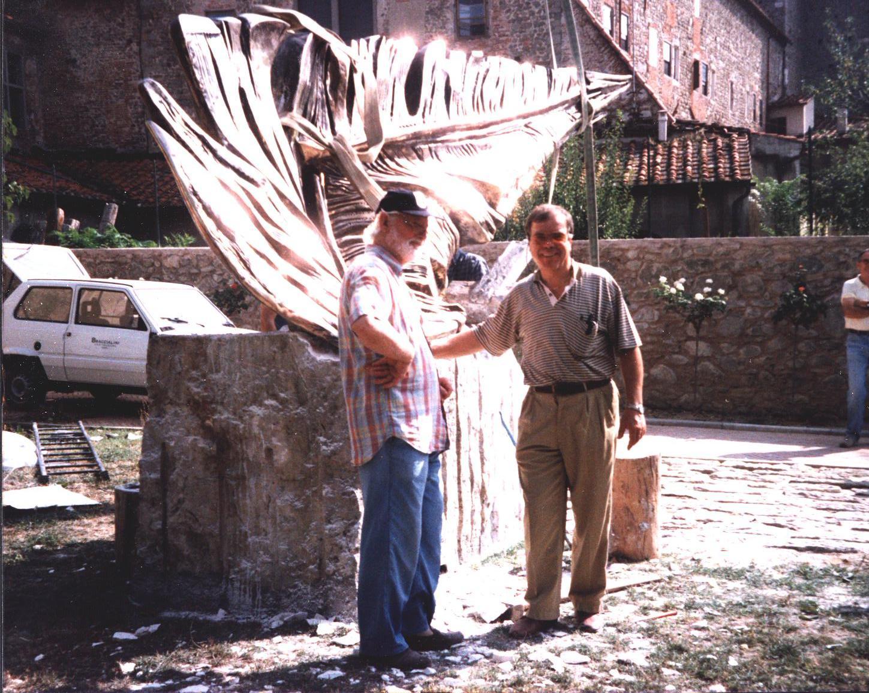 Vivarelli Jorio - Penna Mozza h. cm. 180x300