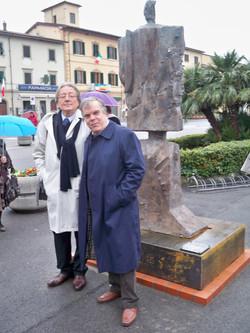 Viggiano Domenico - Scultura celebrativa 150 Unità d'Italia collocata a Monsumma