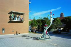 Ilya Kabakov -  Shining Circus - Fusioni in alluminio installata a Monaco di Bav