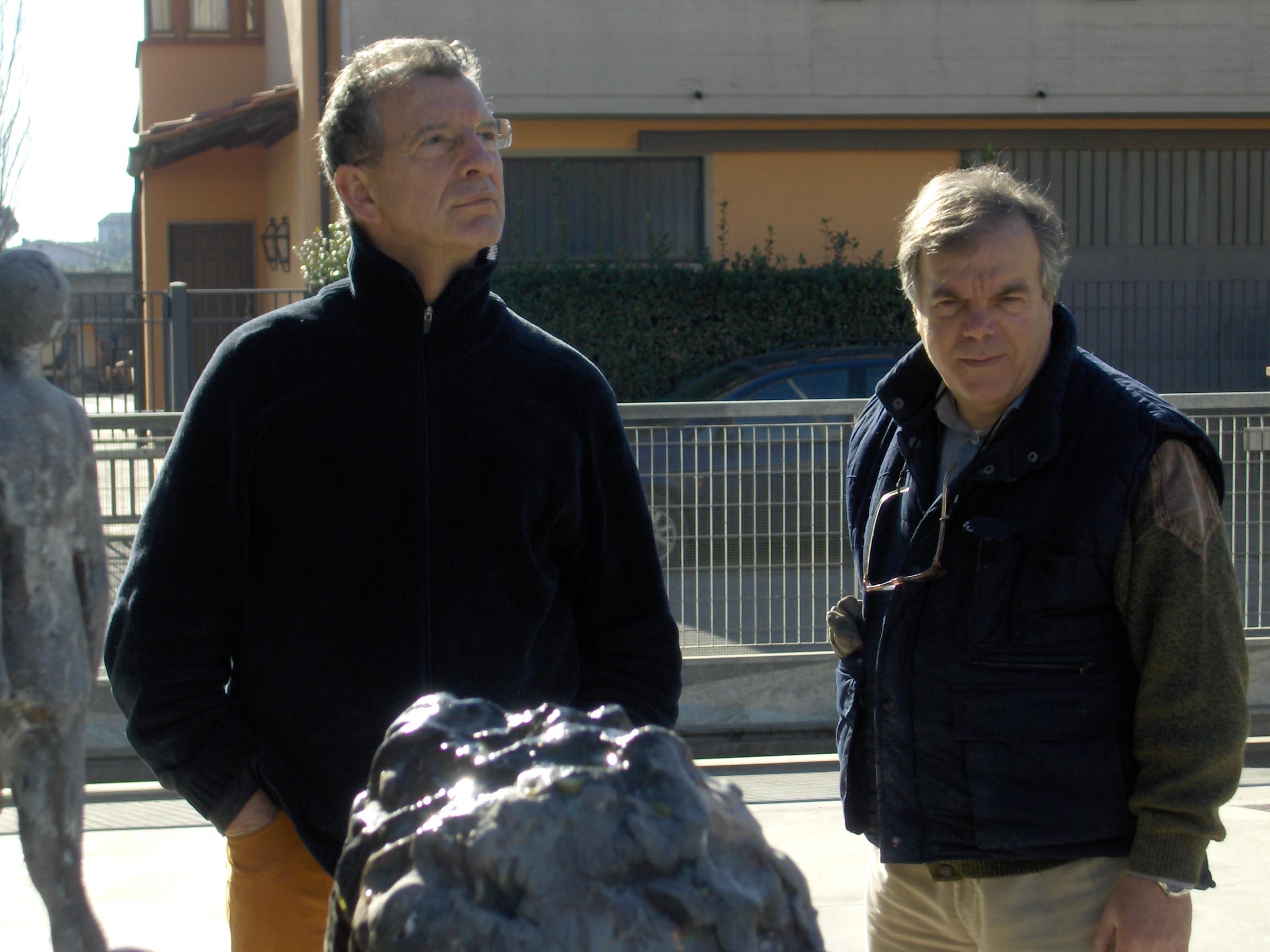 Aldo Busi in fonderia