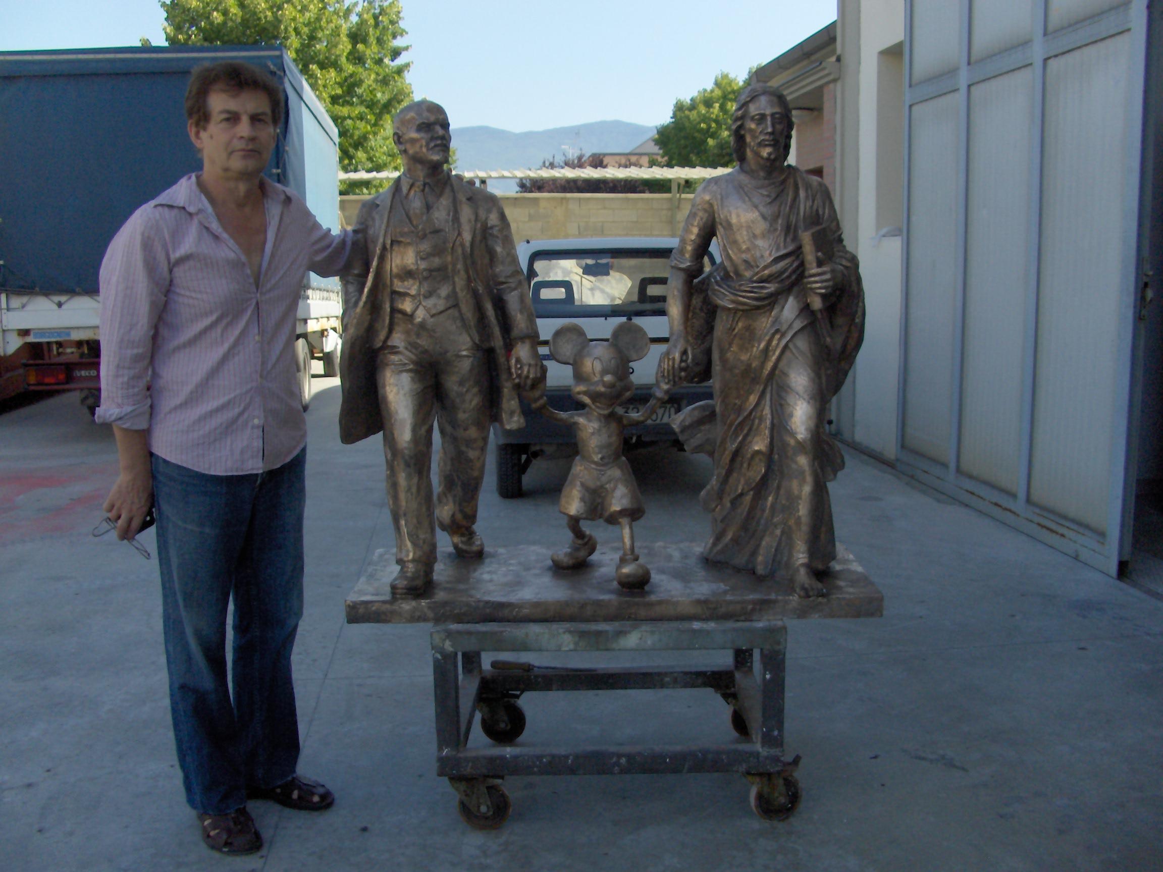 Kosolapov Alexander scultura bronzo
