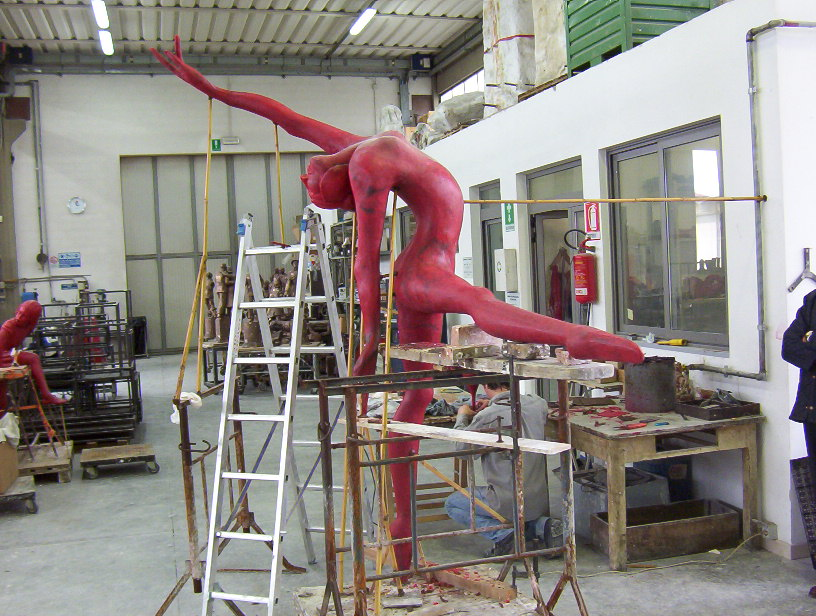 Manzi Antonio - Ballerina h. cm. 250