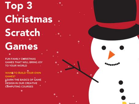 ☃️  Top 3 Christmas Scratch Games ☃️