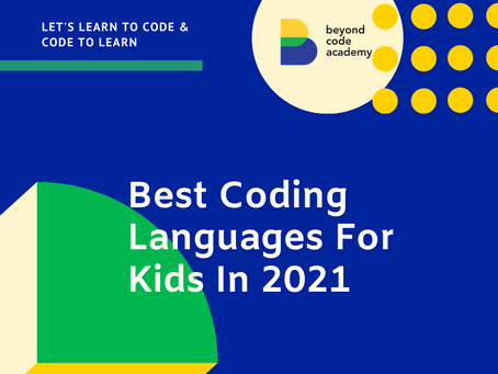 Best Coding Languages For Kids In 2021