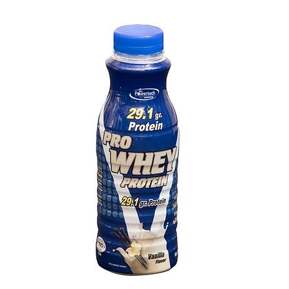 בקבוק משקה חלבון