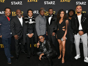 50 Cent and Randy Huggins Align the Stars in BMF Premiere