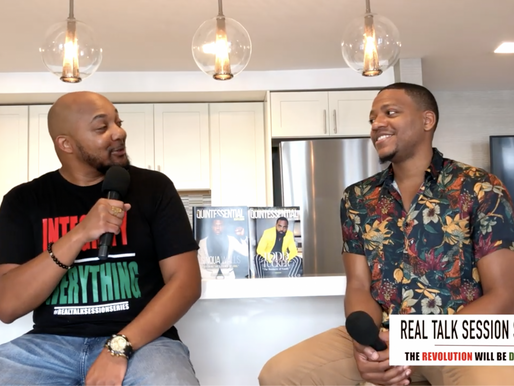 """Eric K. Thomas Talks Building QG, Supporting Black and Brown Men and More on """"Real Talk Session"""""""