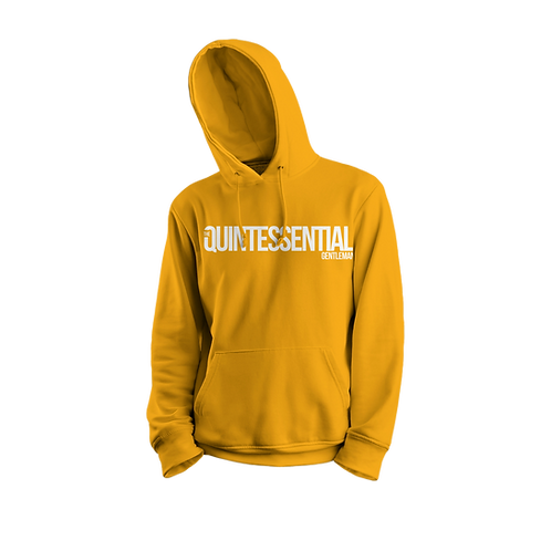 Gold and White QG Hoodie
