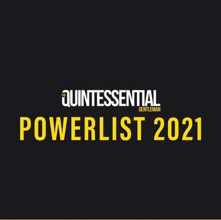 The Quintessential Gentleman's 2021 Powerlist