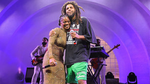 J. Cole Joins Ari Lennox On Stage at BRIC Celebrate Brooklyn! Festival