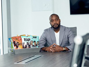 James Lindsay Creates a Culture of Wealth and Confidence with Rap Snacks