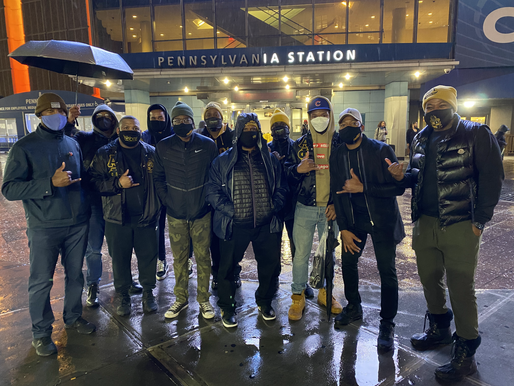 The Wall Street Alphas Gave Away 106 Care Packages to the Homeless Community in New York City