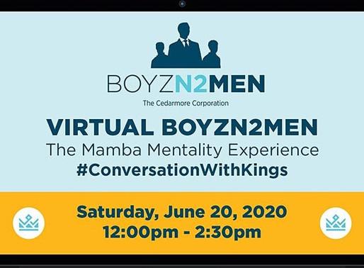 """The Cedarmore Corporation Will Host the """"Virtual BoyzN2Men"""" Event"""