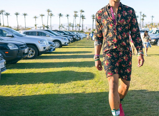 Black Celebs Are Kings at Styling Men's Rompers and Onesies