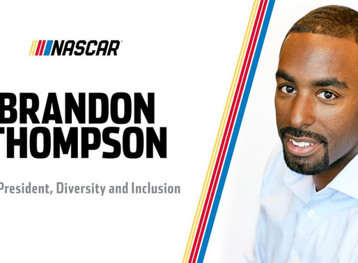 NASCAR Appoints Brandon Thompson to Vice President, Diversity and Inclusion