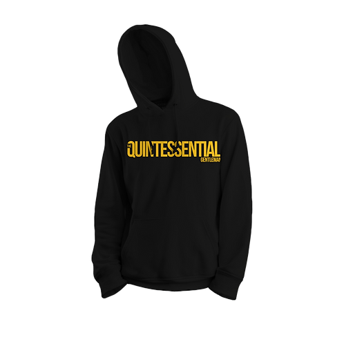 Black and Gold QG Hoodie