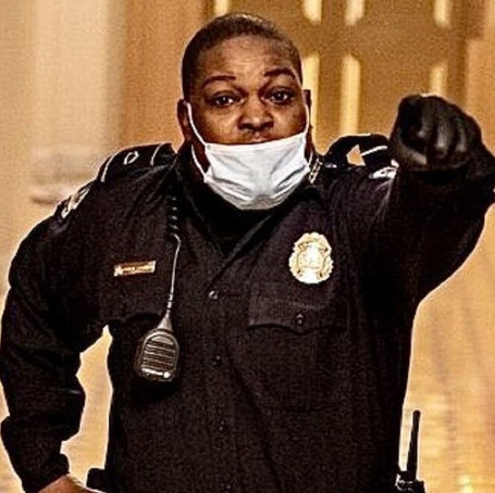 Police Officer Eugene Goodman Becomes Deputy Senate Sergeant At Arms After Diverting Capitol Riot