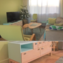 ambiance piece meubles et décors style nordique