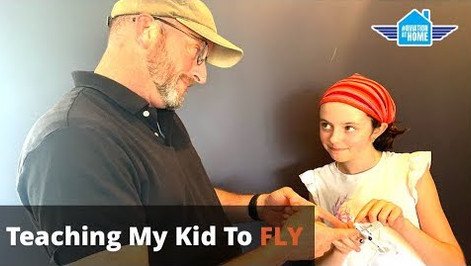 Teaching My Kid To FLY - Aviation at Home - Flight Videos