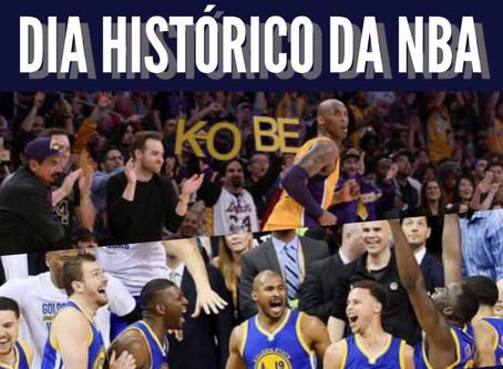 A noite mágica da NBA