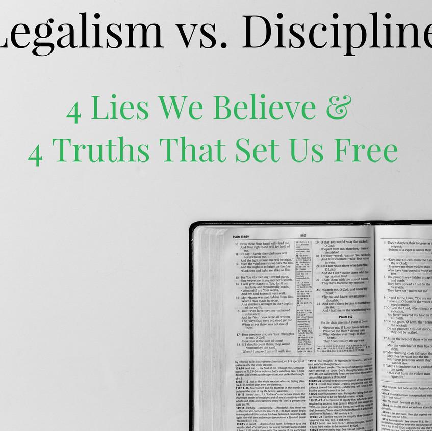 legalism v discipline