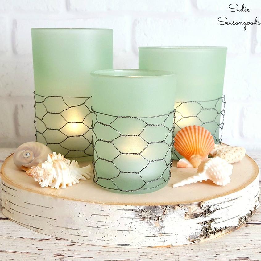 farmhouse sea candles