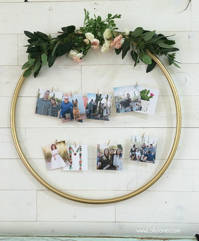hula-hoop-gold-floral-picture-display