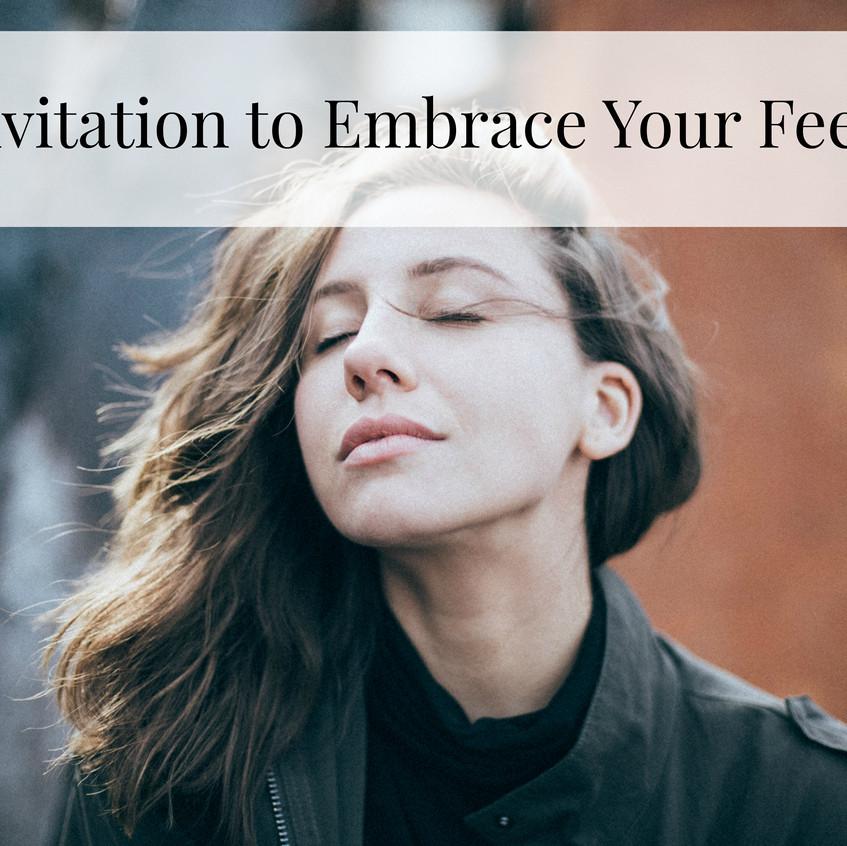 embrace feelings