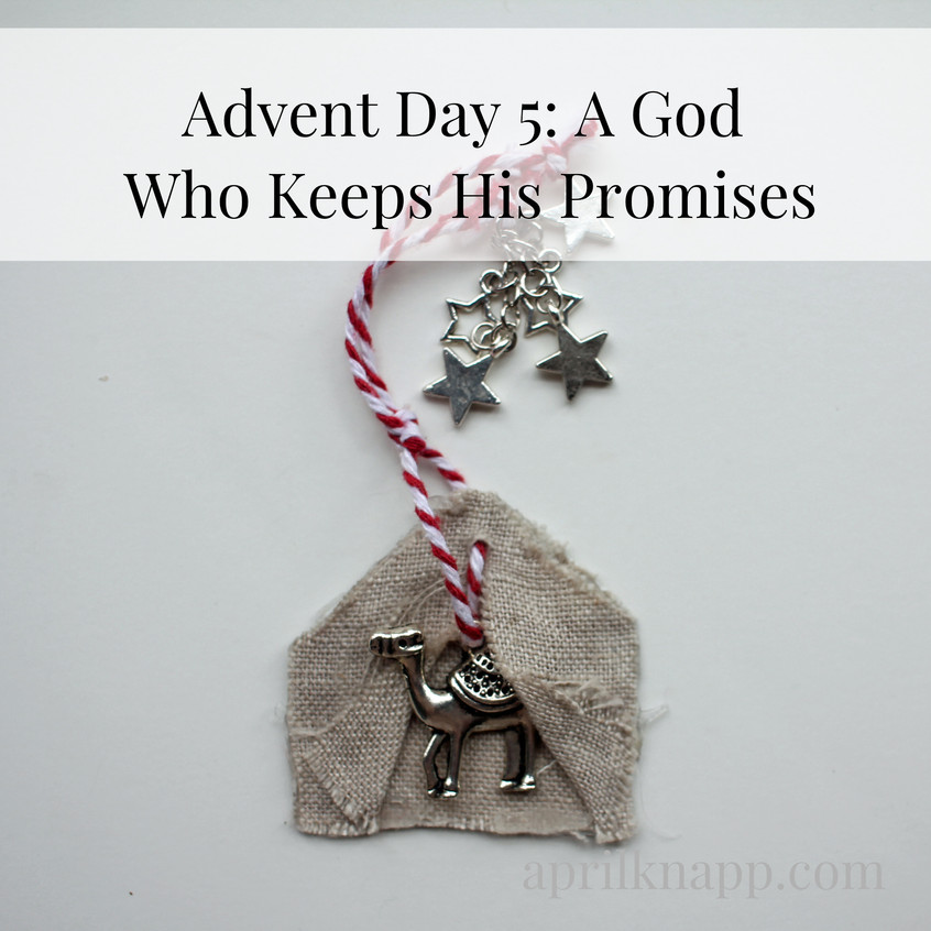 Advent day 5 title