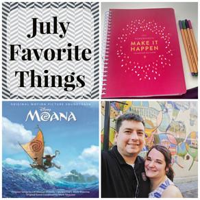 July Favorite Things