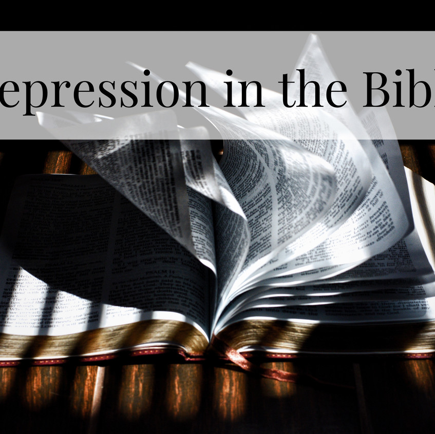 depression in bible title