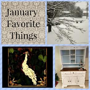 January Favorite Things