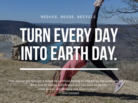 Easy Eco-Friendly Changes for Earth Day (or Any Day!)