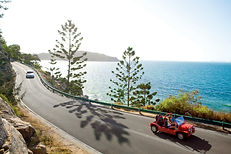 Driving on Magnetic Island - Tourism and
