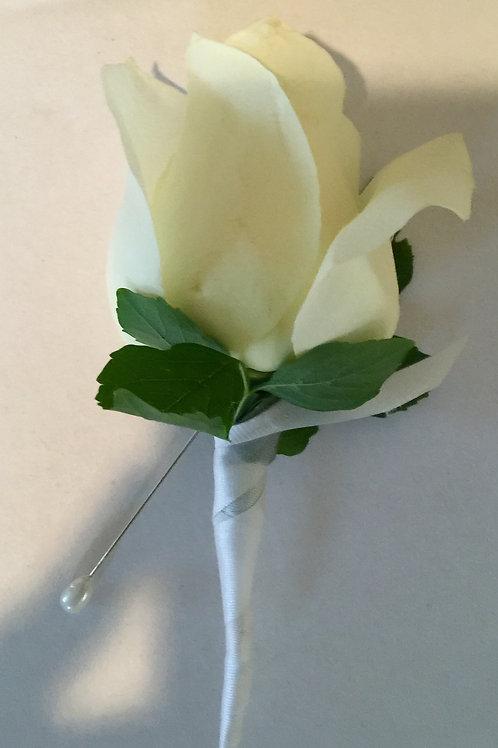 Groomsmen Boutonniere Rose