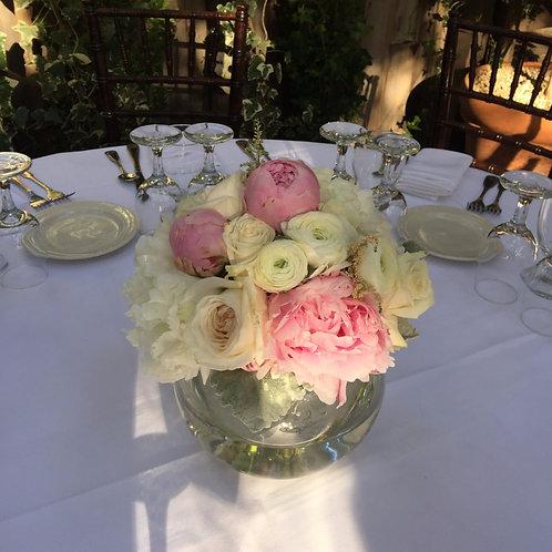 Blush Beauty - Garden Roses, Peonies, Ranunculus