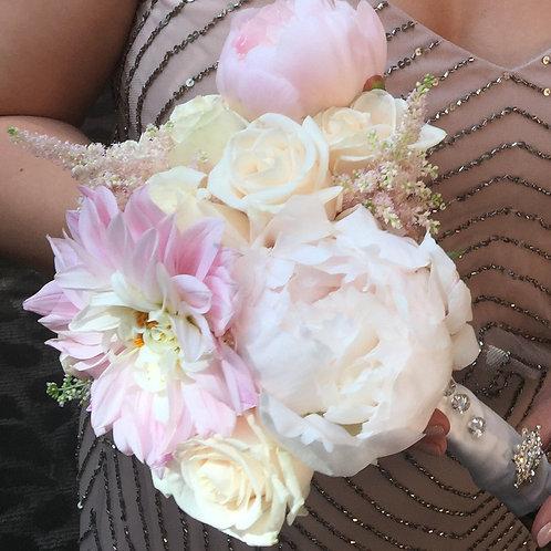 Blush Blush  - Bride's Maid Bouquet