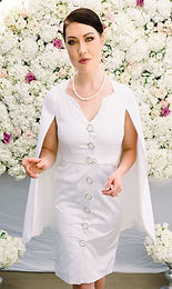 GACITUA - Coat Dress - Caped (Jhonnel)